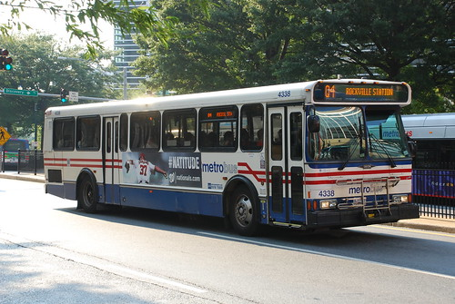 Metro Bus Cleaners Dc : Dc metrobus orion v bus in silver spring maryland so