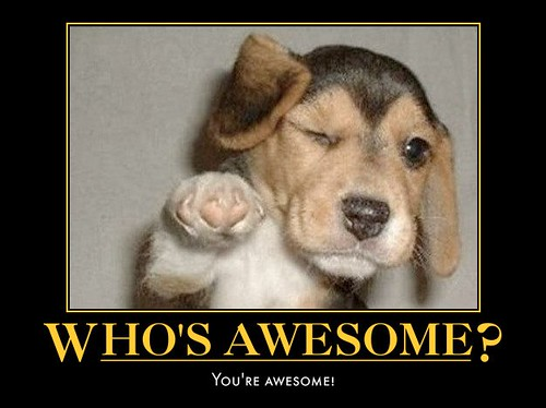 Quotes About People Who Notice: Who's Awesome? You're Awesome!