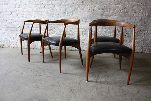 Stimulating Lawrence Peabody Mid Century Modern Arm Chairs