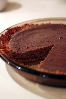 Chocolate Tofu Cheesecake | by Homebrewed & Stewed