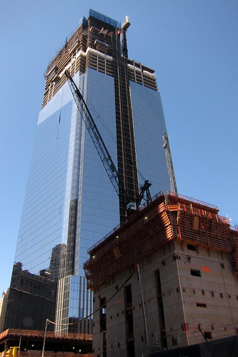 NYC - FiDi: Four World Trade Center (in construction) | Flickr