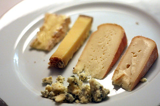 cheese course | by David Lebovitz
