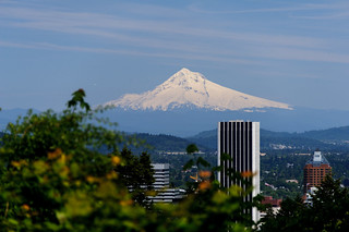 Mt Hood and City View | by Eric Kilby