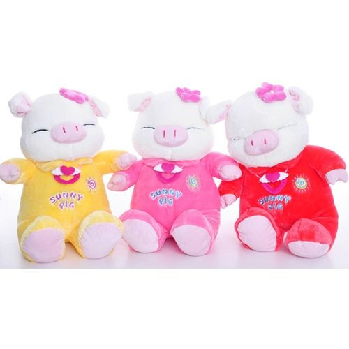 "22"" Plush Sunny Pig Stuffed Animal Toy for Girlfriend/Valentines Gift 