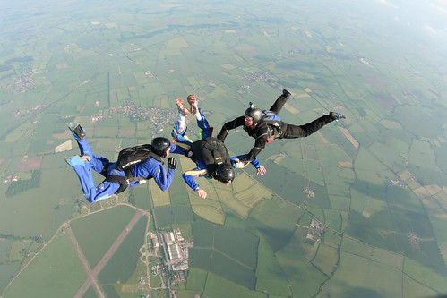 AFF Level 1 - Skydive Langar | by wales_gibbons