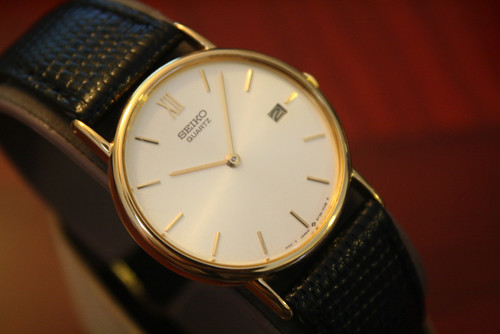 SEIKO 5Y39-7010 Gentleman's Date watch | by WAI's Watch Museum