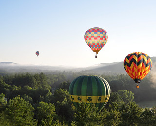 Balloons Over New Hampshire | by Len Radin