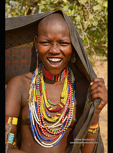 Girl Of The Arbore Tribe In The Lower Omo Valley Of Ethiop -4469