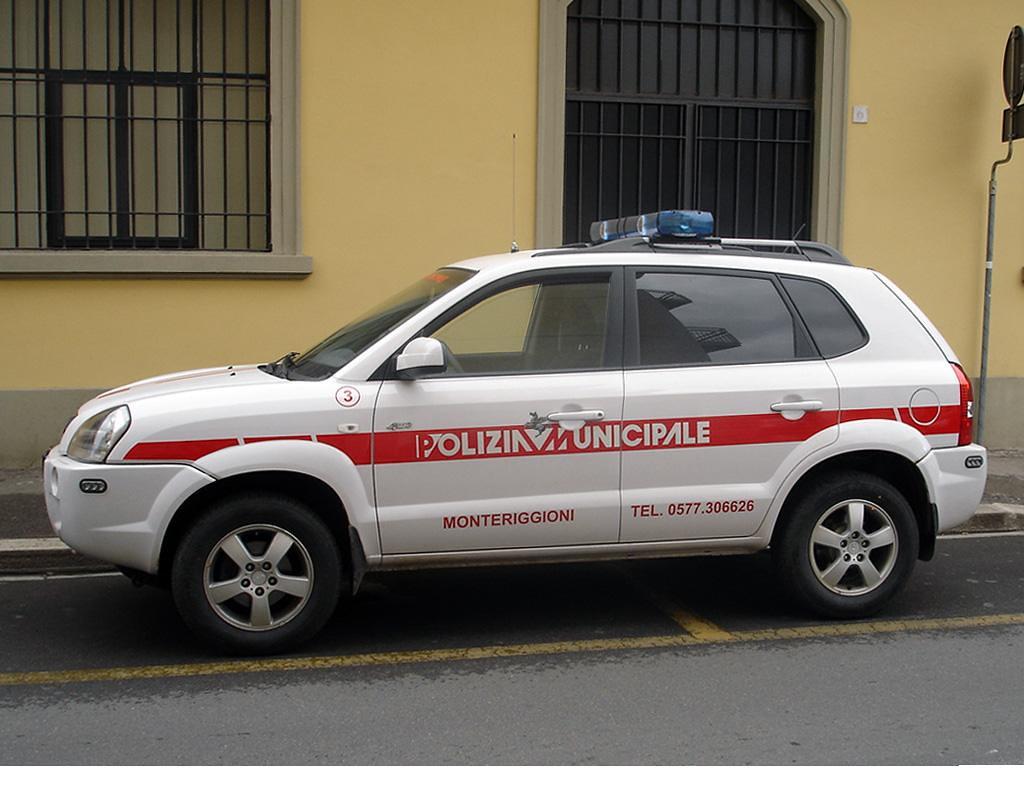 Hyundai Tucson Polizia Municipale Monteriggioni Italy Flickr