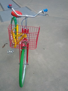Google Bikes Arrive on Campus: Basket | by Hugger Industries