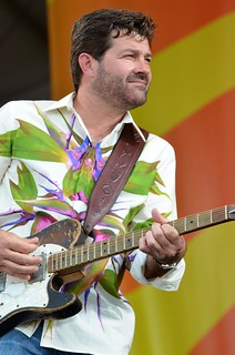 Tab Benoit with the Voice of the Wetlands Allstars at New Orleans Jazz & Heritage Festival, Saturday, April 28, 2012 | by Offbeat Magazine