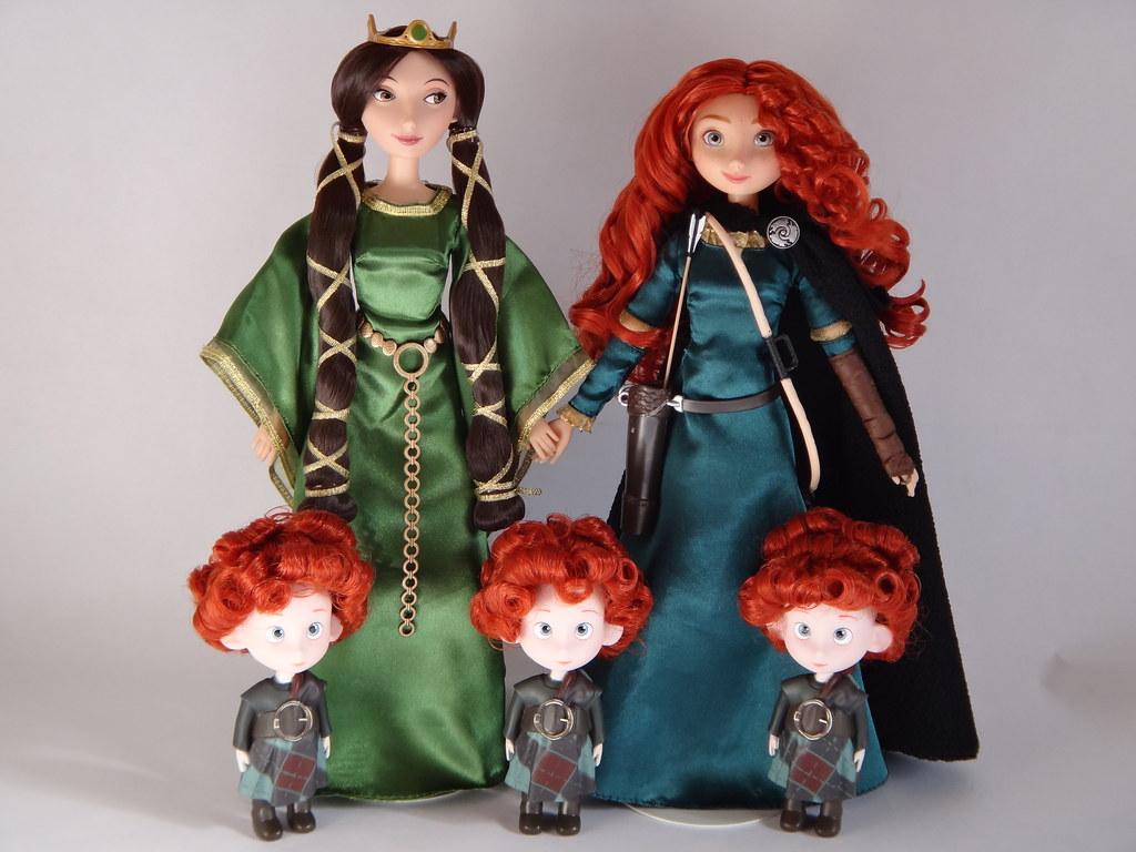 merida family brave Disney
