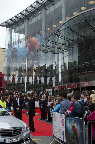 General scenes outside the Festival Theatre for the European premiere of Brave | by Edinburgh International Film Festival