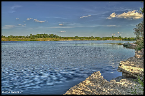 DEEP QUARRY LAKE, WEST BRANCH FOREST PRESERVE, BARTLETT, IL | by WDB PIXWORX