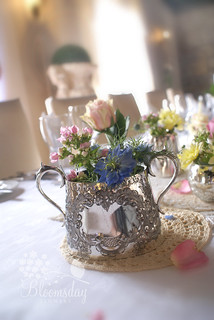 silver sugar bowl | by bloomsdayflowers