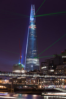 The Shard light show | by cybertect