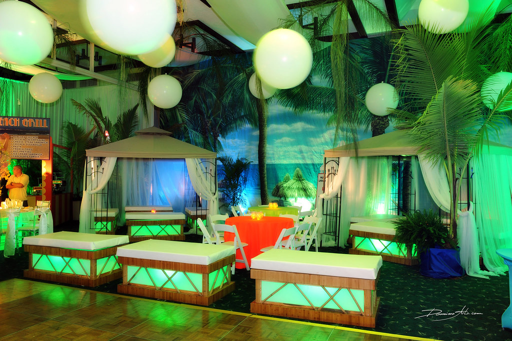 tropical theme party me productions me productions flickr