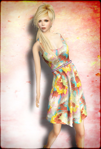 Mesh Summer Dress from SHIKI | by smine27