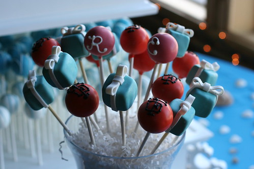 Tiffany Box Cake Pops | by Sweet Lauren Cakes