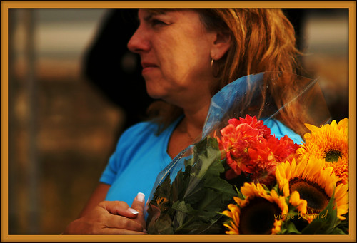 Woman With Flowers | by Vincent's Images