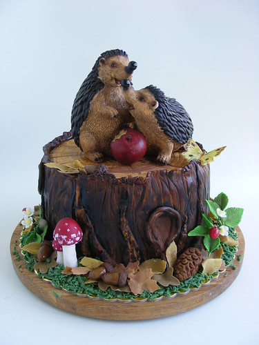 Hedgehogs cake | by bubolinkata