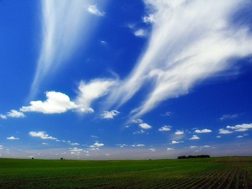 Farm Land And Big Sky | by Dave Linscheid