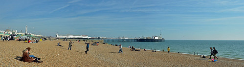 Panorama for Palace Piier, Brighton, Sussex, England | by Kate Phizackerley