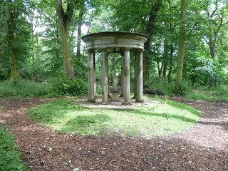 The Classical Temple Renishaw Hall Derbyshire | by woodytyke