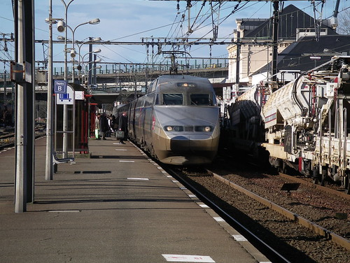 tgv a tgv passes through biarritz with a hendaye to paris flickr. Black Bedroom Furniture Sets. Home Design Ideas