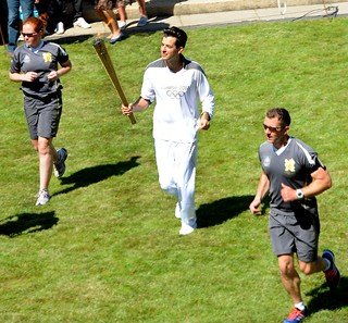Olympic Torch Relay passes through Brunel | by Brunel University London