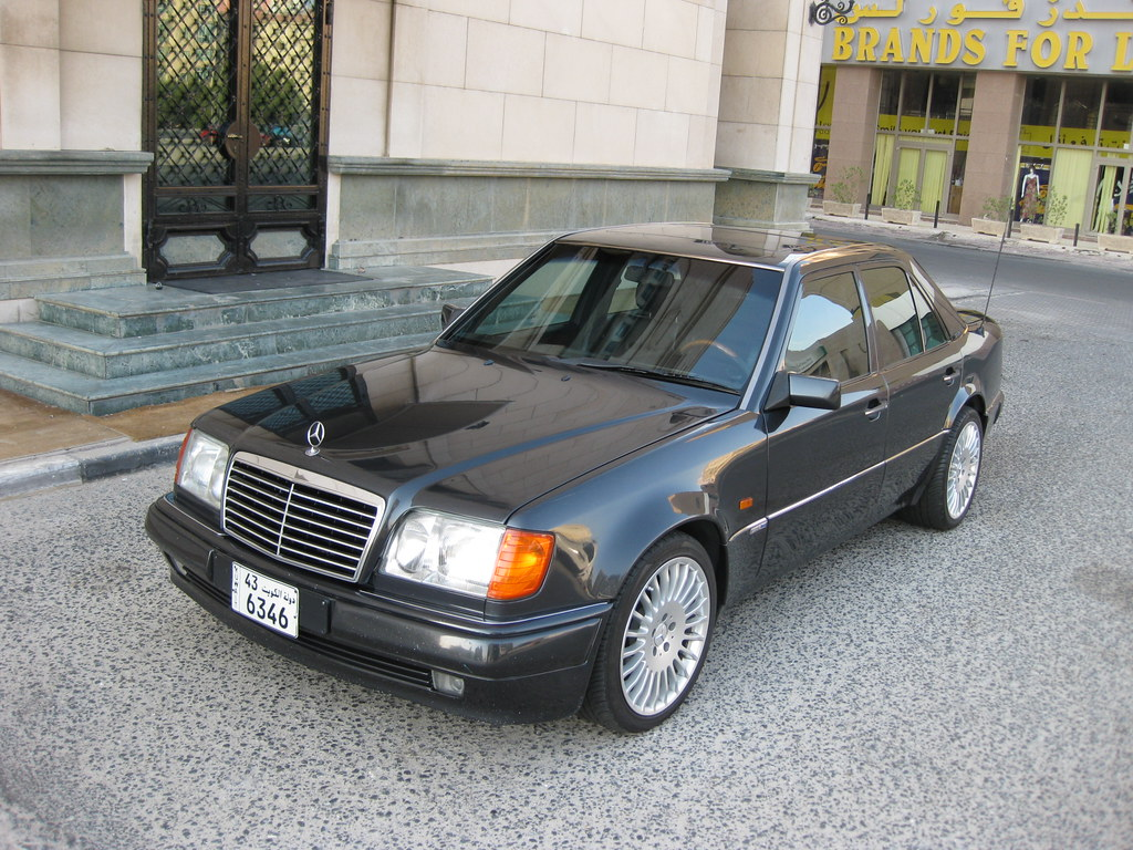 1992 Mercedes Benz W124 500e With Cls Rims 18 Muhammad Dasouqi