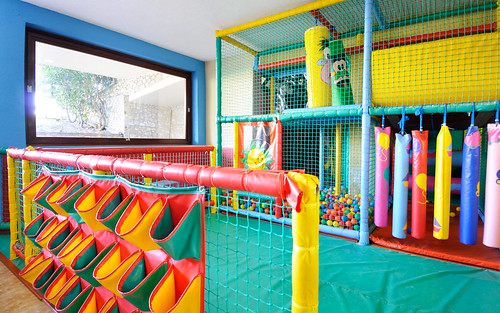 Indoor playroom at the Kassandra Bay Hotel & Resort | by KB Collection Hotels & Resorts