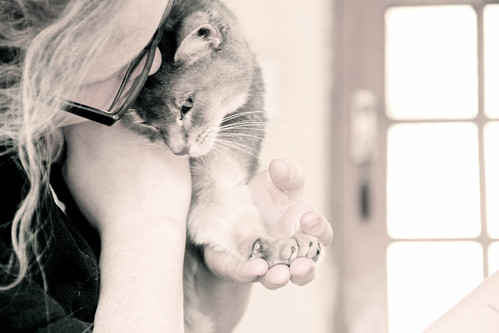 Em and Kitten | by snapclicktripod