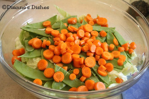 Asian Peanut Salad: Carrots