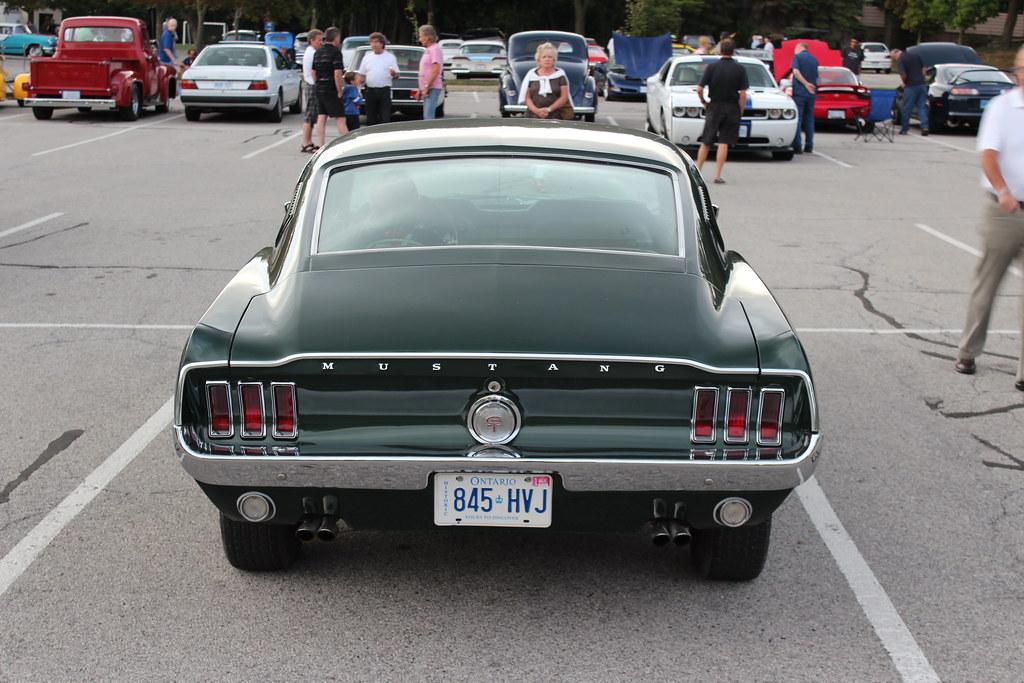1967 Mustang GT Fastback