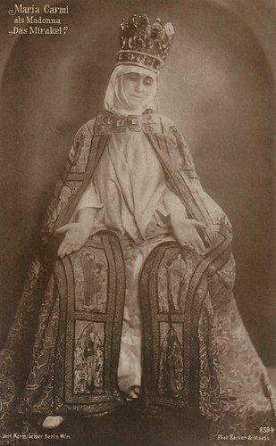 Maria Carmi in Das Mirakel