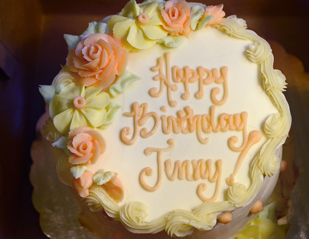 Happy Birthday Jenny Jennys birthday cake at home and st Flickr