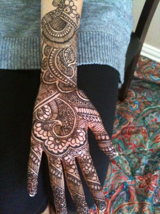 Henna 1 Asiya Qureshi Flickr
