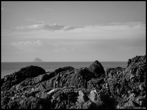 A distant view of Ailsa Craig | by bevscwelsh