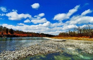 Bow River Spring Afternoon | by LostMyHeadache: Absolutely Free *