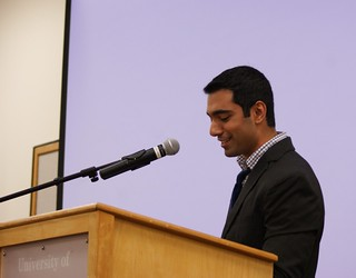 SGA Meeting - President Akshay Kapoor | by dailycollegian