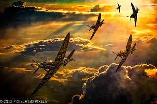 Spitfire Attack | by Pixielated Pixels