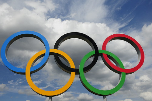 Olympic rings | by Department for Digital, Culture, Media and Sport