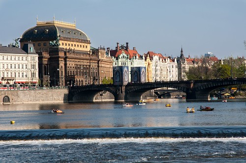 view of the vltava | by steff808