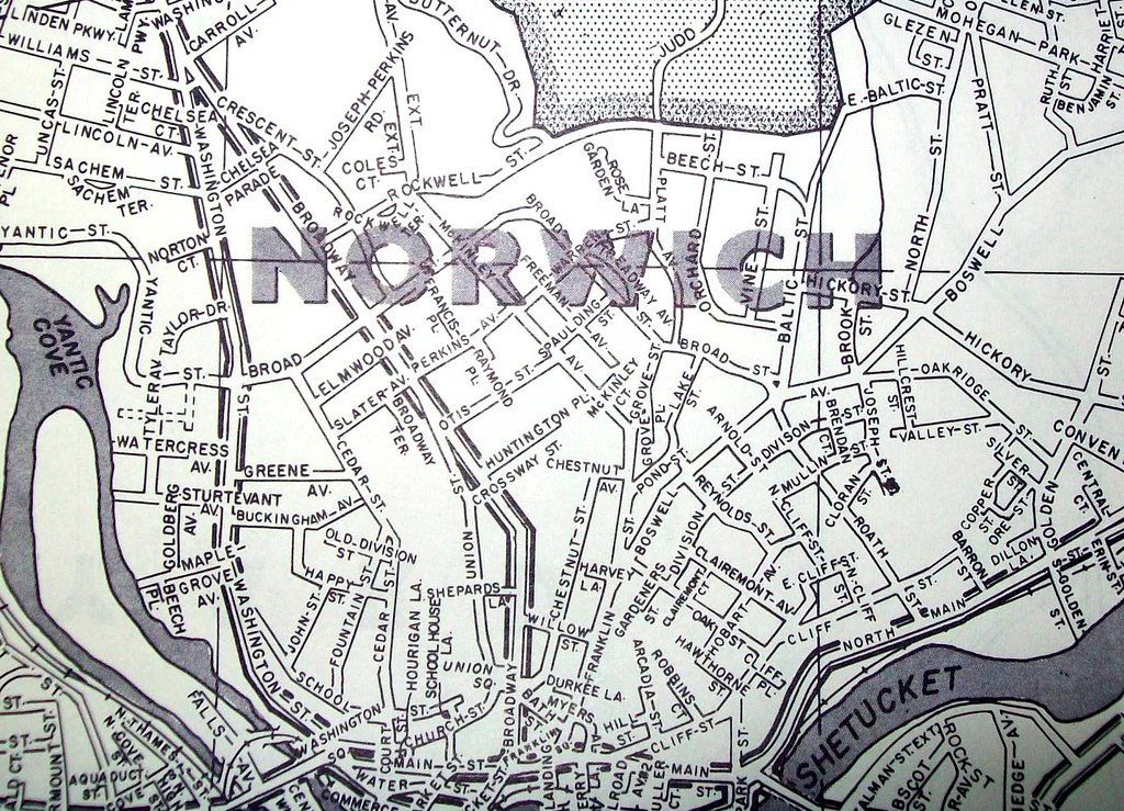 Norwich CT (Dec 1970) | Map published by Hagstrom Maps. Orig… | Flickr