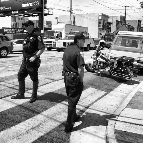 Earlier @SFPD on Woody Allen duty | by Steve Rhodes