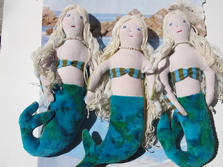 three mermaids | by art spirit