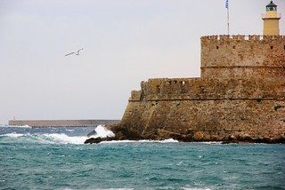 Rhodes island medieval port ... | by pantherinia_hd Anna A.