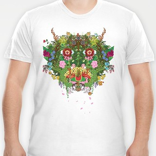 Green Man - tshirt on Society 6 | by Ashley A