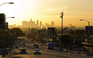Dawn over Downtown | by The Hollywood Hills